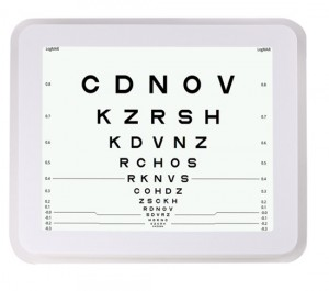 LCD-VISION-CHART-GD8600