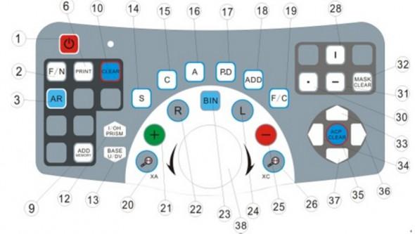 GD8800-key-board