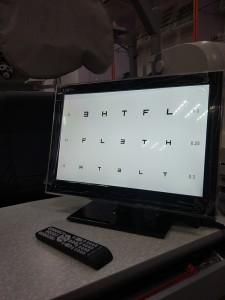 LCD Visual Chart