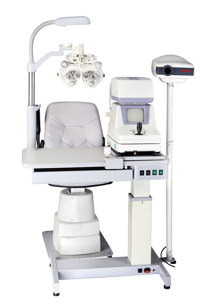 Ophthalmology motorized table and chair GD7500AB - Ophthalmic